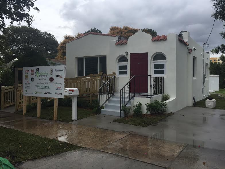 We partnered with First Florida in conjunction with Rebuilding Together Miami-Dade